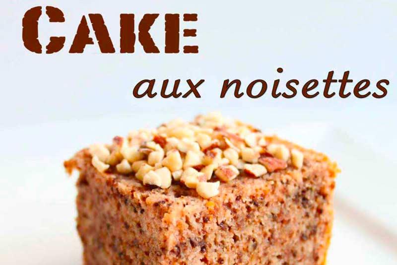 Couverture Recette gateau cake noisette