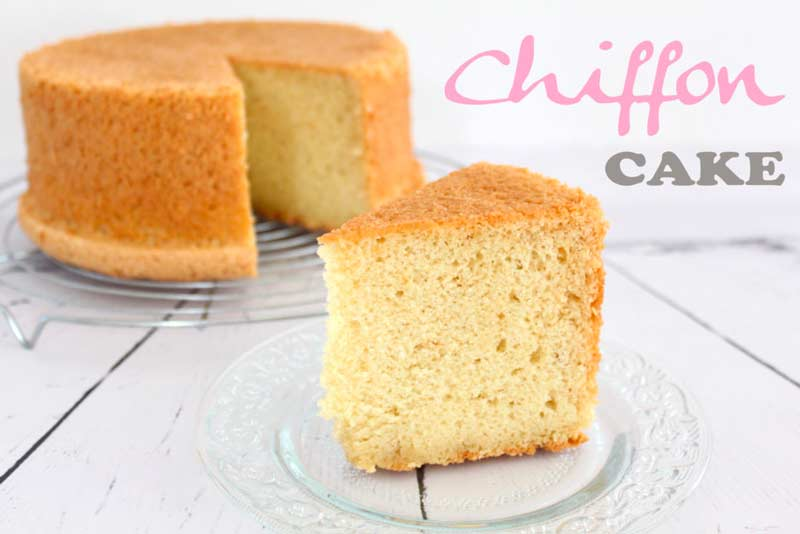Couverture Recette gateau chiffon cake